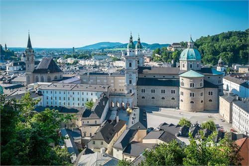 Domquartier in der Stadt Salzburg