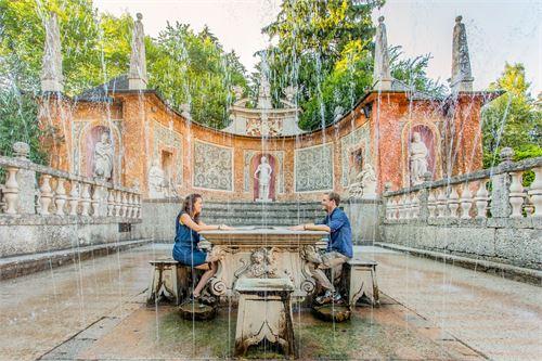 Wasserspiele in Hellbrunn
