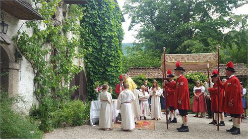 Fronleichnamsprozession St. Jakob