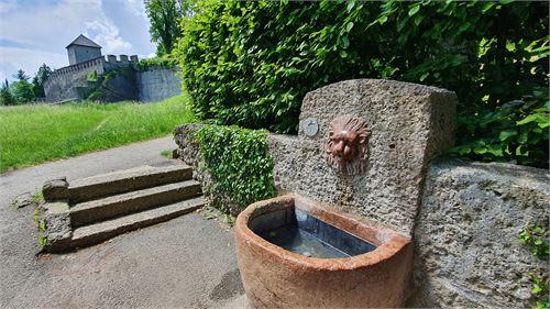 Trinkbrunnen bei der Richterhöhe am Mönchsberg