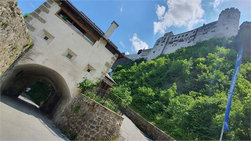 Wanderung von der Altstadt zur Festung Hohensalzburg