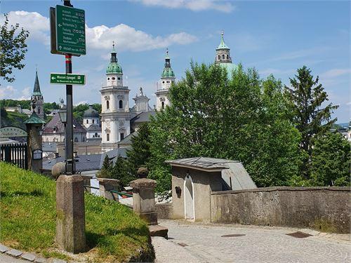 Wanderung von der Festung zum Salzburger Dom