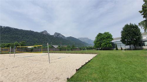 Beachvolleyballplatz - Freibad Hallein