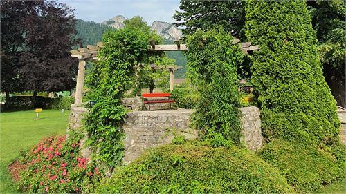 Garten Freibad Hallein