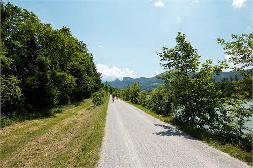 Rad- und Wanderweg in Puch Urstein an der Salzach