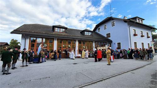Erntedankfest-Prozession in Puch bei Salzburg