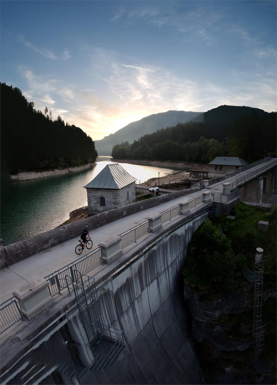 Staumauer Wiestalstausee in Puch bei Salzburg | ©TVB Puch - Thomas Lindner