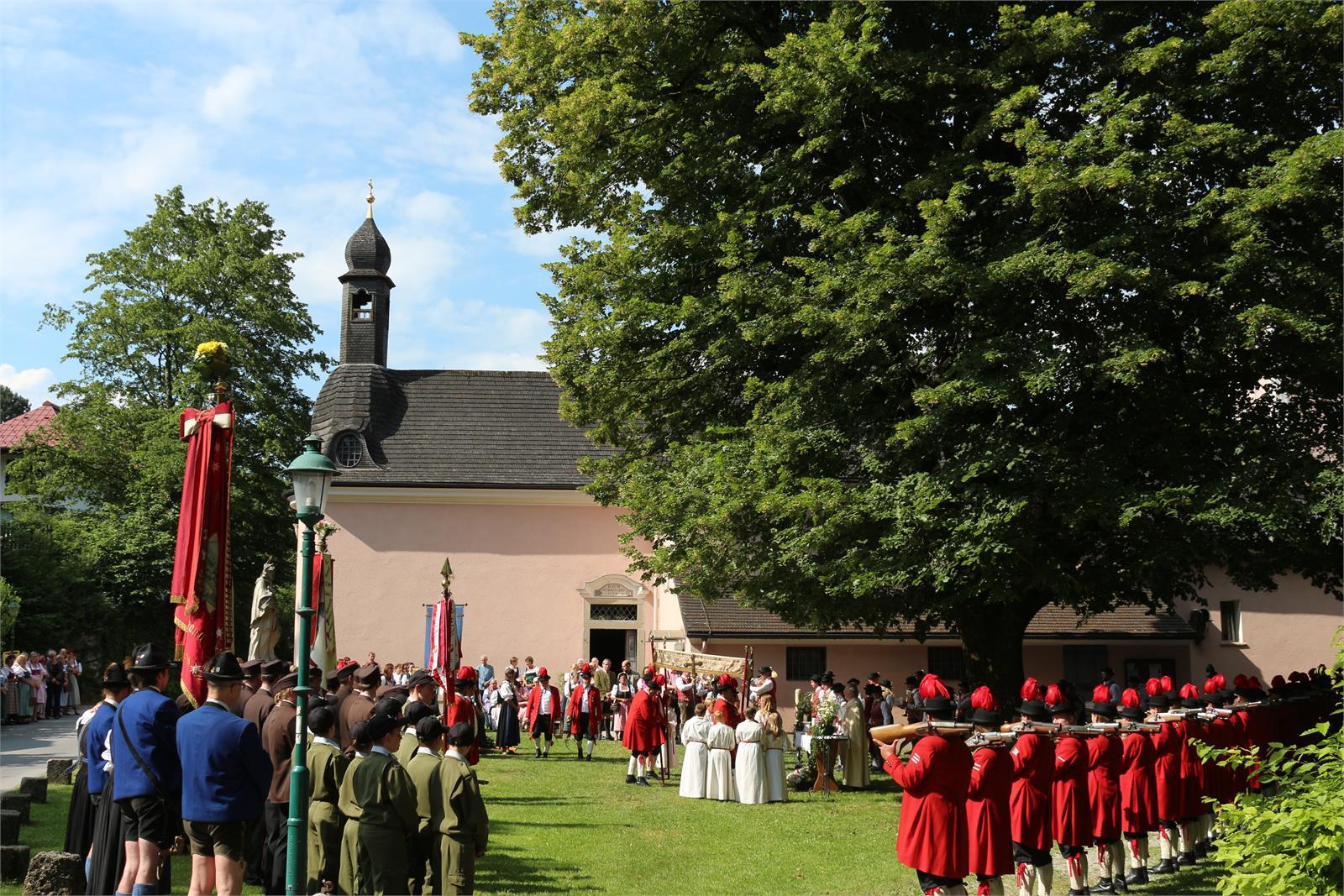 Festemesse mit örtlichen Vereinen in St. Jakob am Thurn | ©TVB Puch