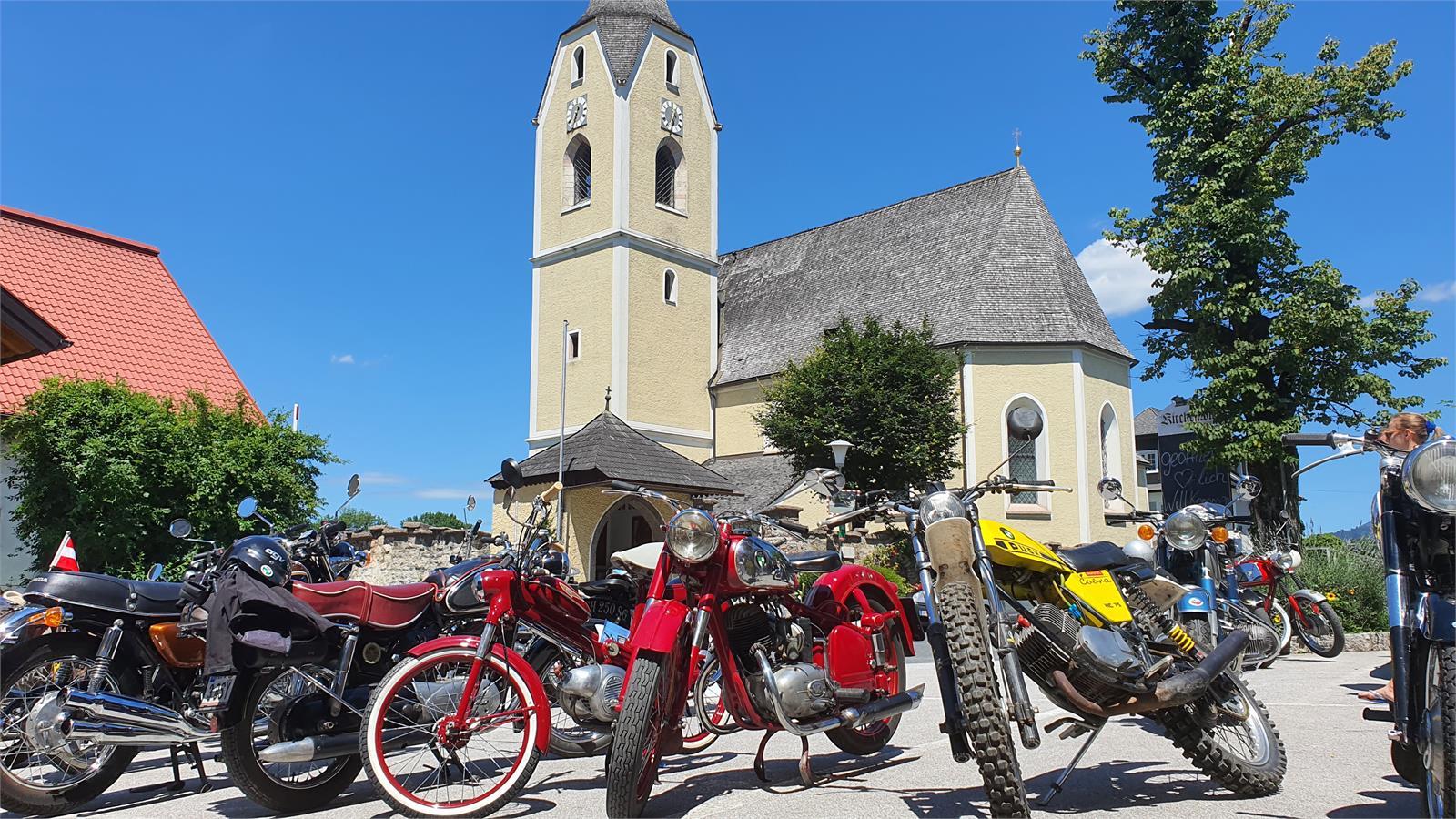 Pucher Puch und Motorradtreffen in Salzburg | ©TVB Puch