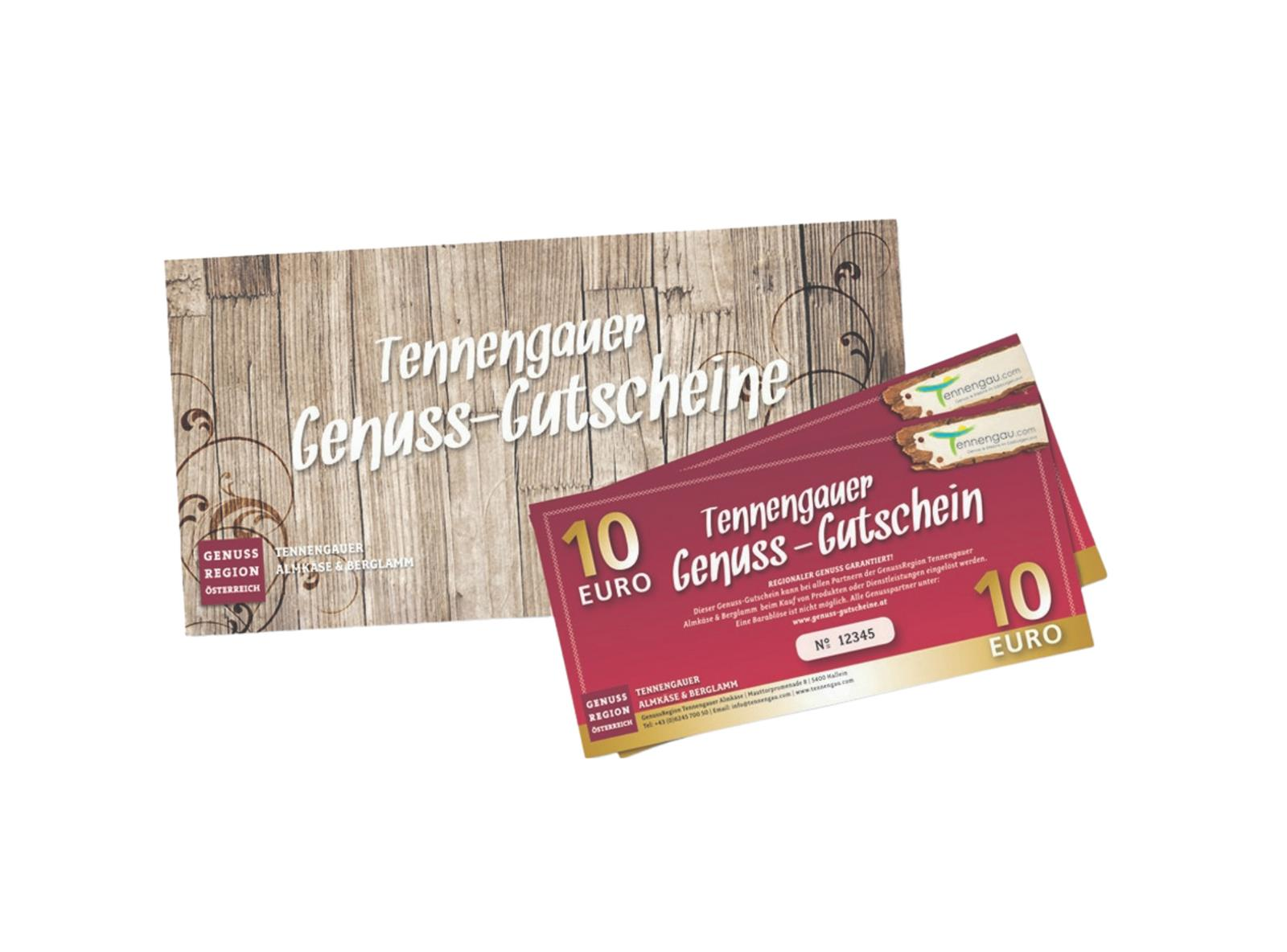 Tennengauer Genuss Gutscheine   ©Tennengau.com