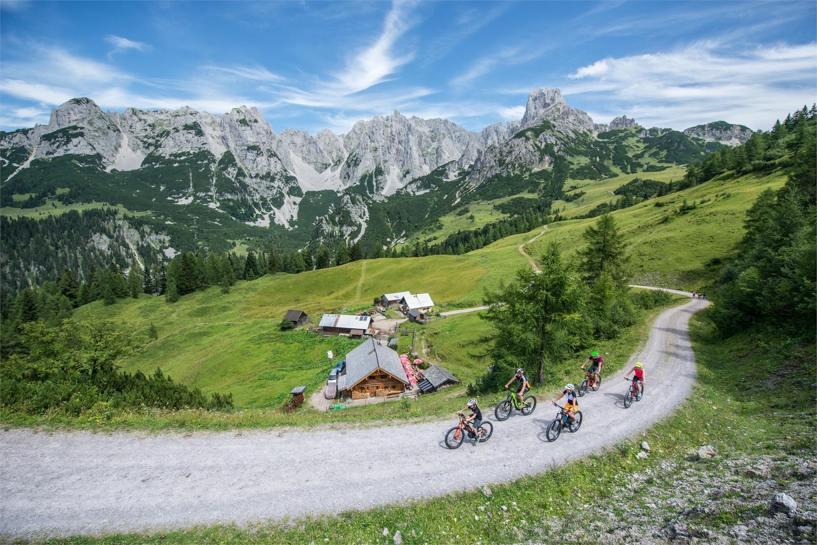 Mountainbiken zur Loseggalm in Annaberg - Lungötz | ©TVB Annaberg-Lungötz