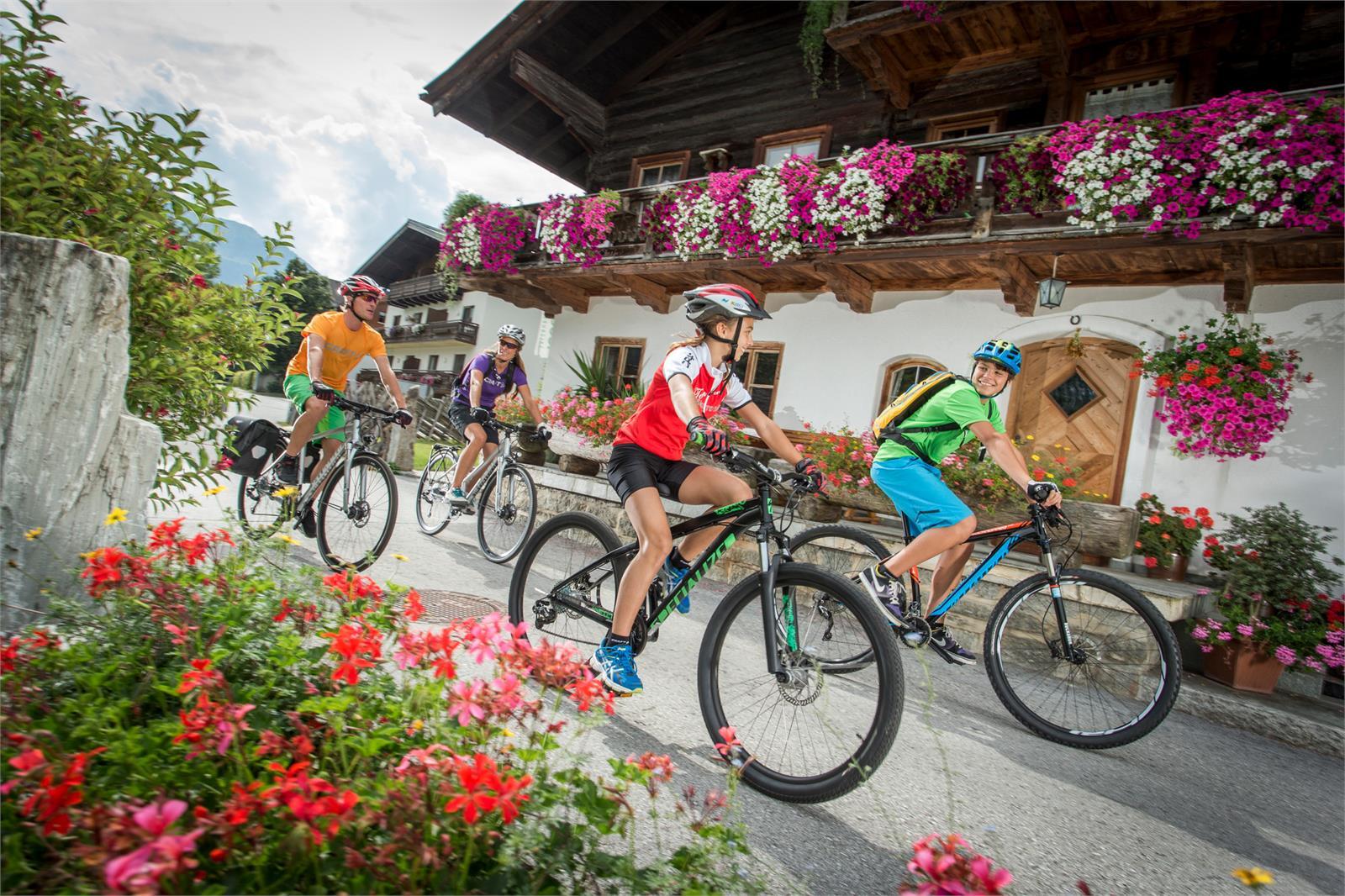 Familie Radtour  | ©Salzburgerland Tourismus - Markus Greber