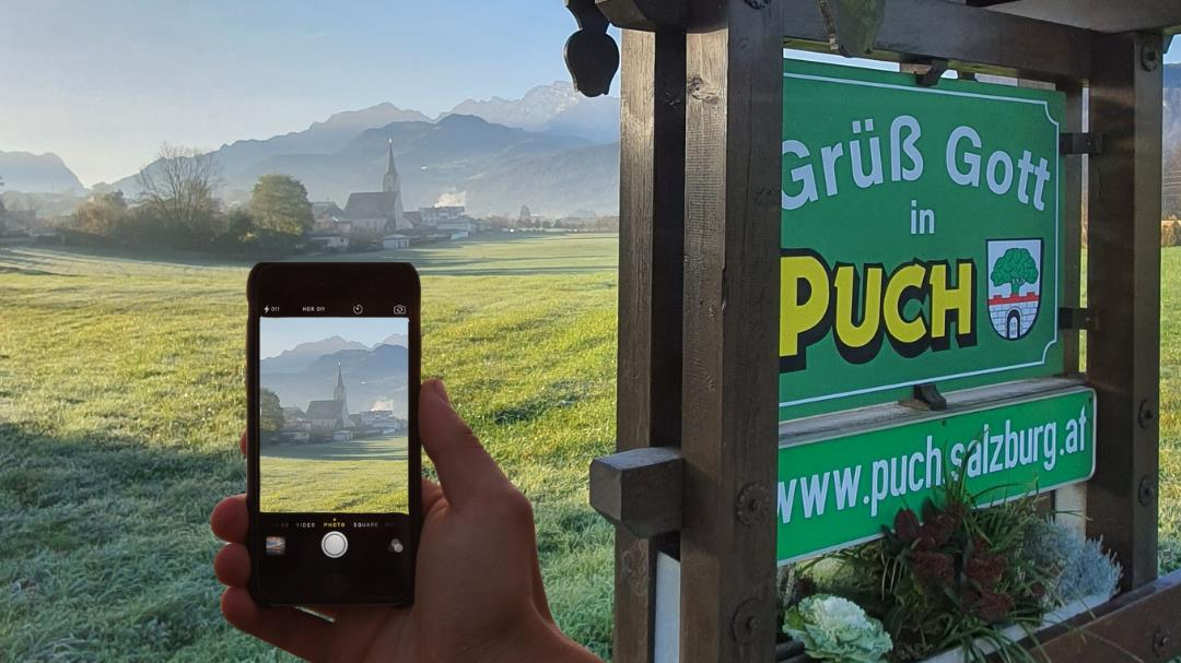 Puch Fotgrafieren | ©TVB Puch - Canva