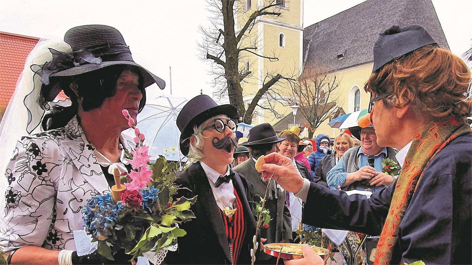 Faschingshochzeit in Puch bei Salzburg | ©TVB Puch