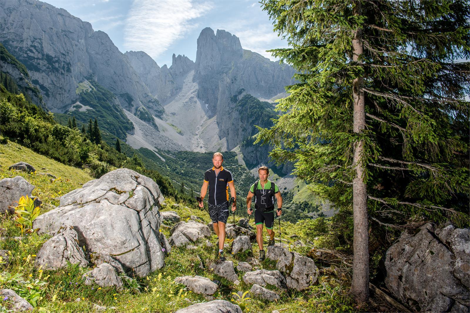 Wandern in Annaberger Lungötz   ©TVB Annaberg-Lungötz