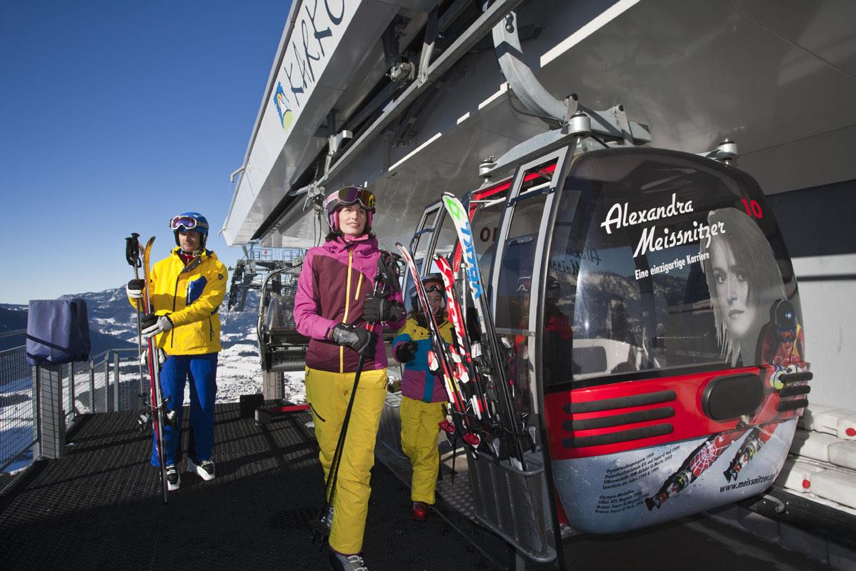 Skifahren Salzburg mit der Abtenauer Bergbahen   ©Abtenau.info