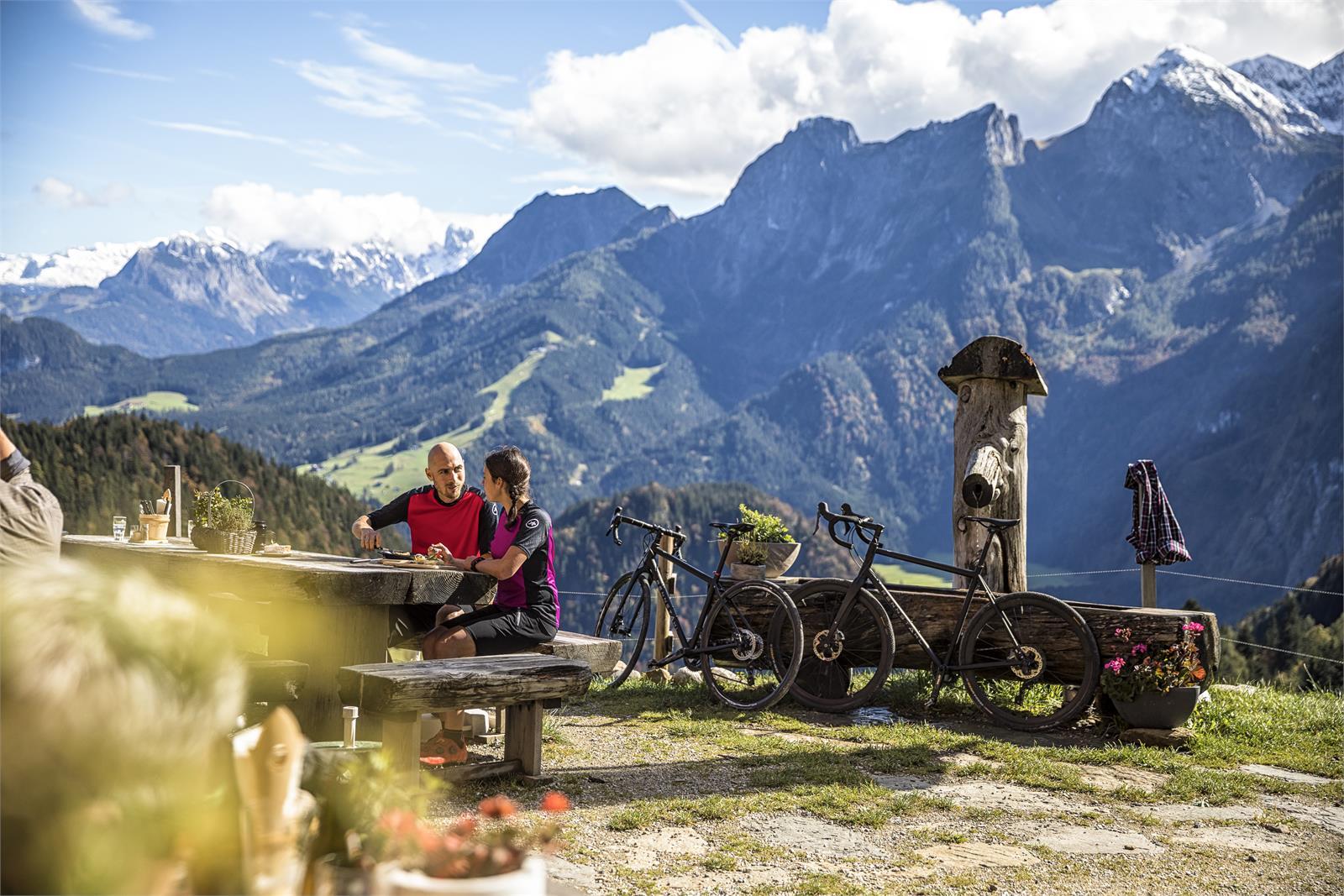 Gravelbiken auf die Rocheralm in Abtenau - Tennengau | ©Salzburgerland Tourismus - Andreas Meyer