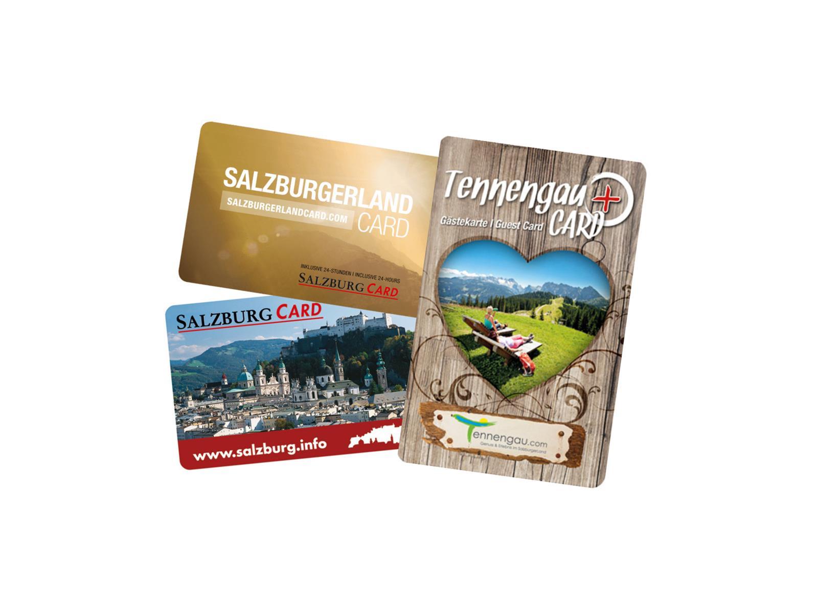 TennengauPLUS Card - SalzburgerLand Card - Salzburg Card | ©GST - SLT - TS