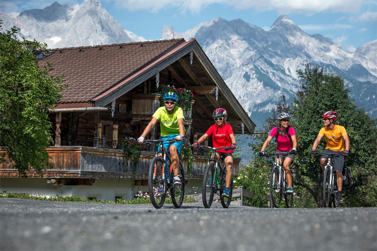 Familien-Radtour   ©Salzburgerland Tourismus - Markus Greber