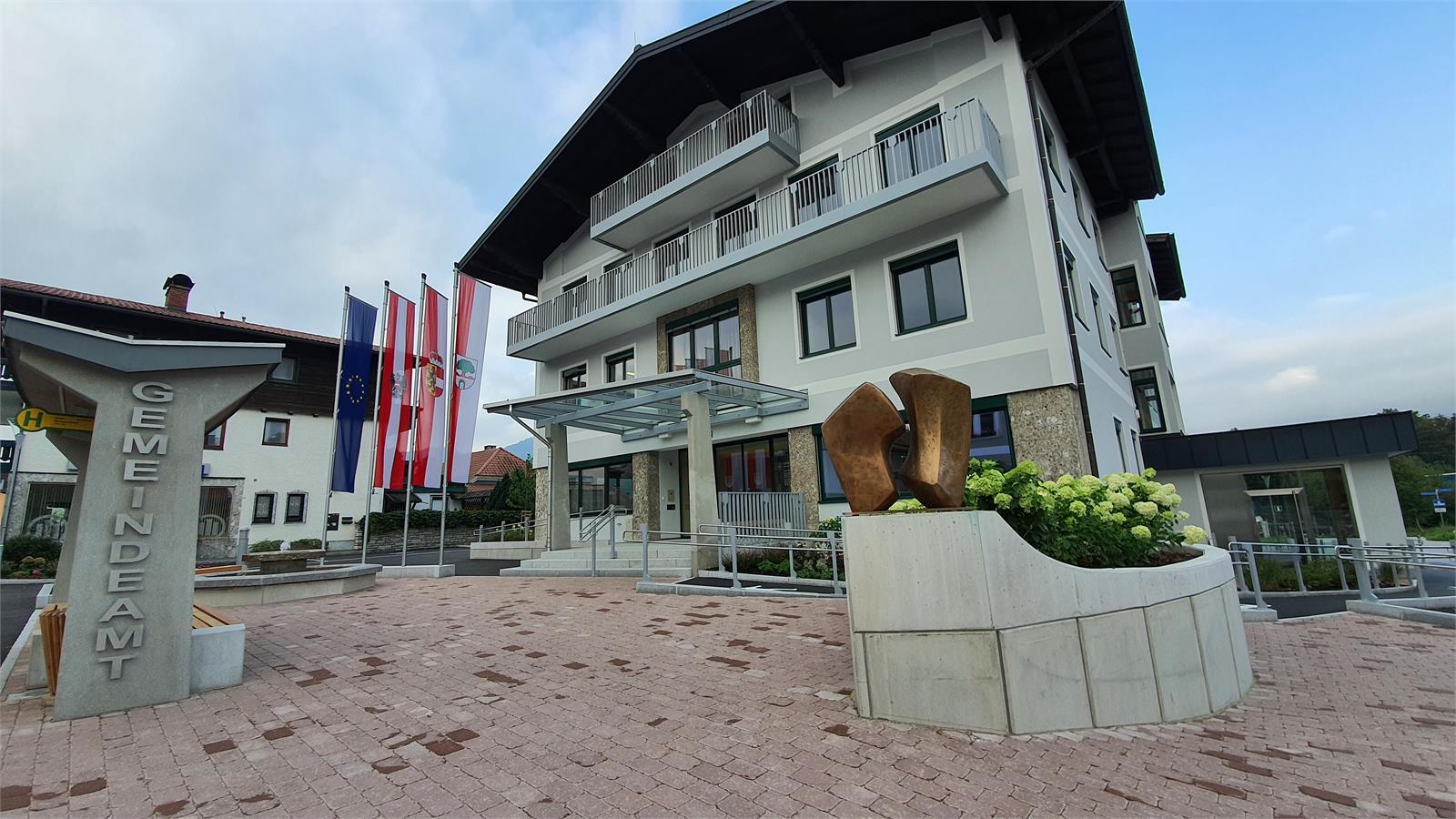 Tourismusbüro im Gemeindeamt Puch bei Hallein | ©TVB Puch