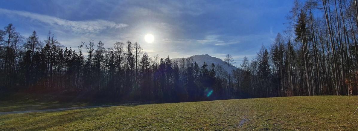 Untersbergblick Kugelgarten ©TVB Puch