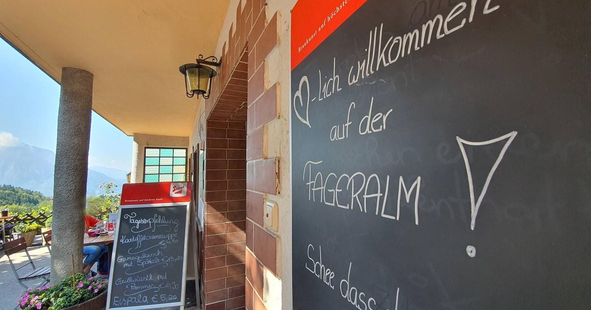 Alpengasthof Fageralm © TVB Puch - Gerber