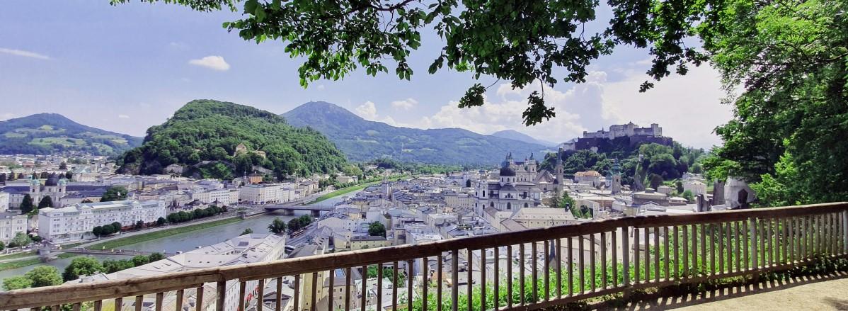 Blick auf die Stadt Salzburg - Foto: TVB Puch