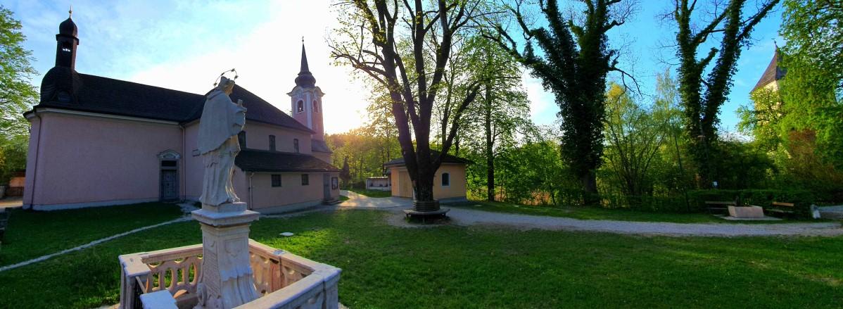 Sunset Wallfahrtskirche St. Jakob ©TVB Puch